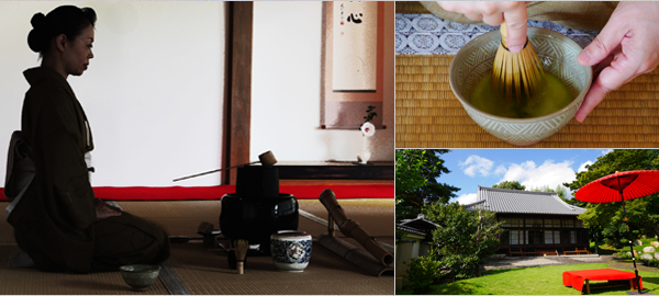 Exclusive Tea Ceremony at a Temple Ordinarily Closed to the Public