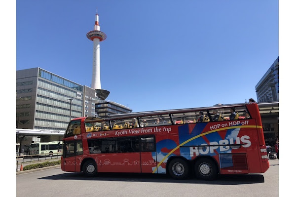 1-Day Sky Hop Bus Kyoto Pass - Hop-On Hop-Off Sightseeing Bus (Valid for 24 Hours)