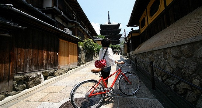 Real Kyoto Back Street Guided Cycling Tour